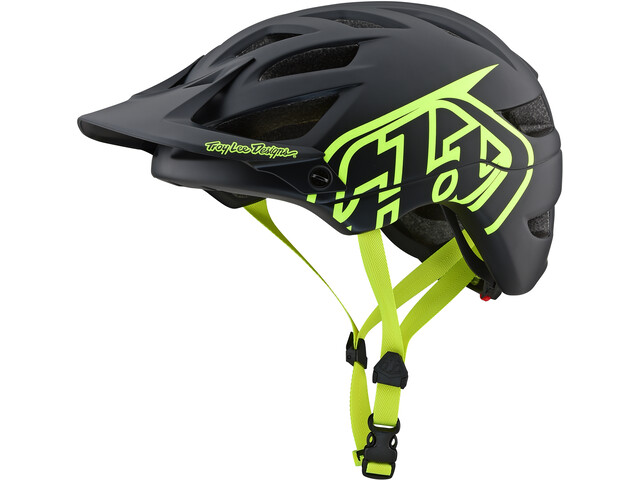 Troy Lee Designs A1 Helmet drone/black/flo yellow
